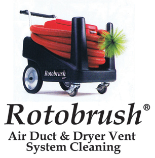 Rotobrush Cleaning Machine for HVAC Ducts